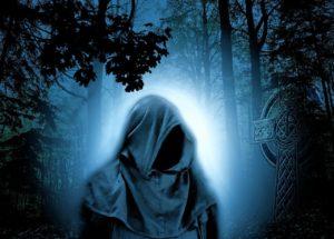 אדם מסתורי ביער